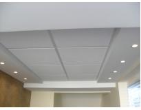 forro de drywall acústico preço Condomínio Maracanã