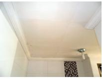 valor de forro de gesso para banheiro Vila Euclides